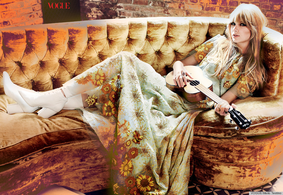 view download images  Images Taylor Swift For Vogue February 2012: Pop Star's Best Fashion Ever! (PHOTOS) | HuffPost