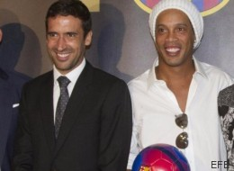 Raúl zanja la polémica tras ir a un acto del Barça en Nueva York: