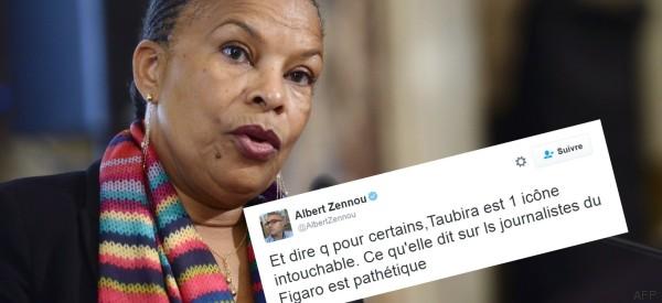 Des journalistes du Figaro répondent aux attaques de Taubira