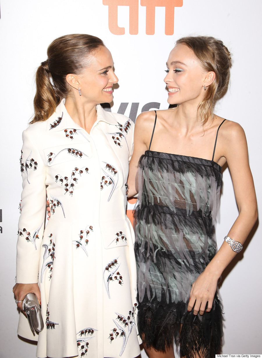 natalie portman and lily rose depp