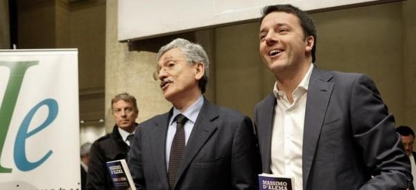 Per Renzi il congresso Pd è iniziato e finito. Grazie a D'Alema