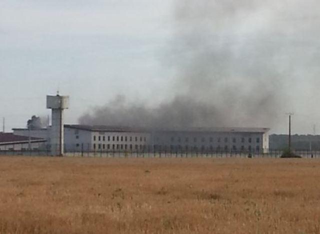 Des détenus mettent feu à une prison — Vivonne