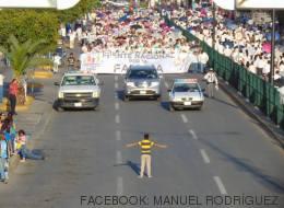La historia del niño que se enfrentó a una marcha homófoba en México