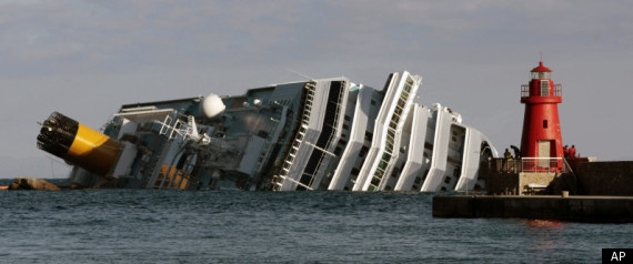 Costa Concordia Captain Coast Guard Transcript