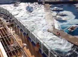Ce paquebot a complètement détruit une petite marina italienne (VIDÉO)