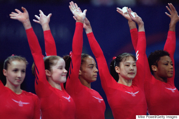 2000 usa olympic gymnastics team