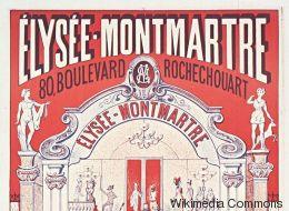 French cancan, catch, théâtre... les mille vies de l'Élysée-Montmartre