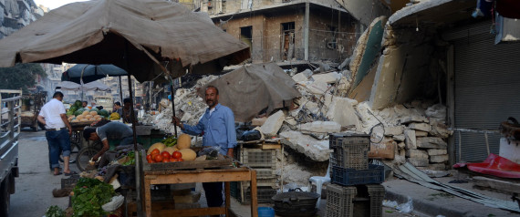 SYRIA EMPTY STREET