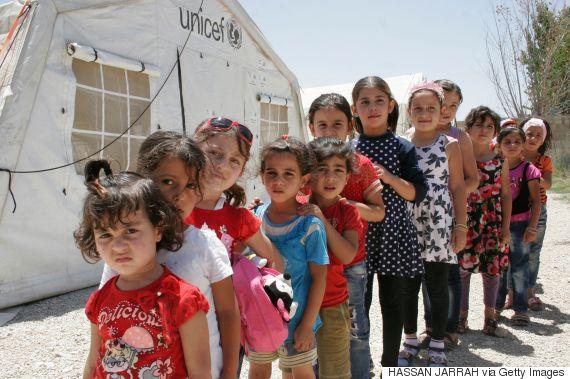 refugee children school