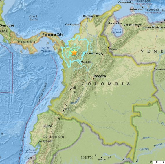 columbian quake