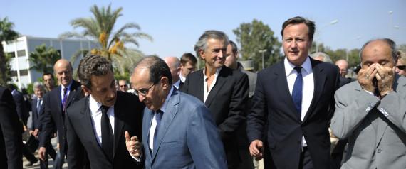 CAMERON SARKOZY LIBYA