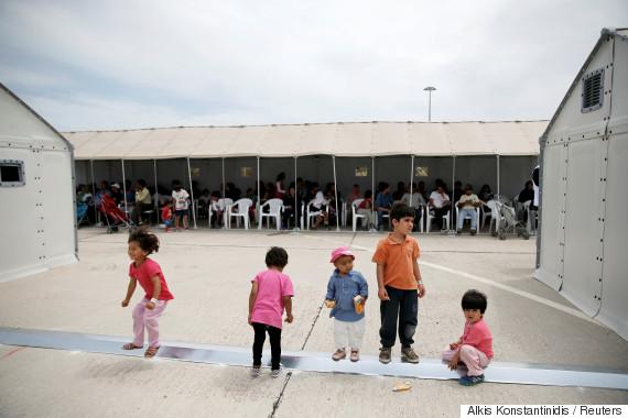 children refugees greece
