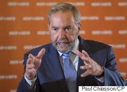 Mulcair Says Liberals Are His Only 'Adversaries'