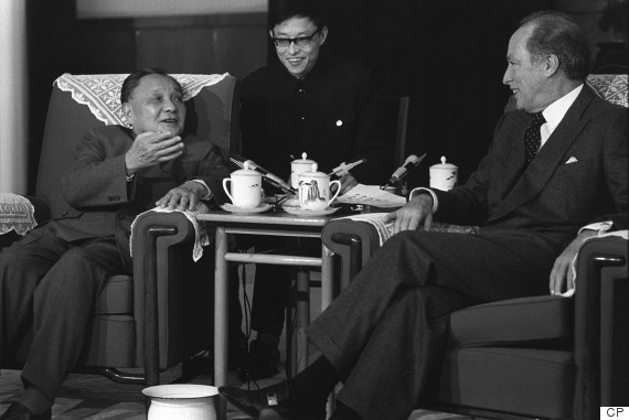 pierre trudeau china 1983