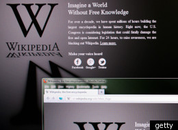 'Once It's Gone Black...': Twitter's Funniest Wikipedia Blackout Jokes