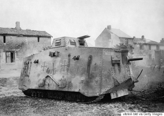 battle of somme tank