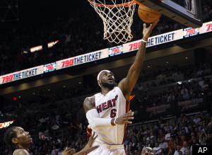 Lebron James Heat Spurs