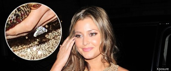 Holly Valance dazzles in gold, flashes sparkling ...