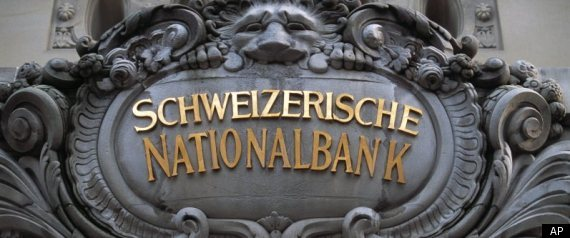 Swiss National Bank Protests