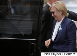 Hillary Clinton de retour après sa pneumonie