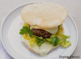 Vite fait, bien fait: Burger méditerranéen