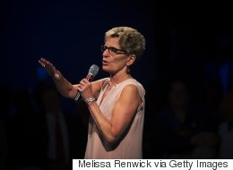 Wynne Launches Petition Against... Herself?