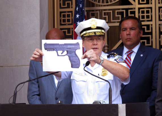 pistola columbus