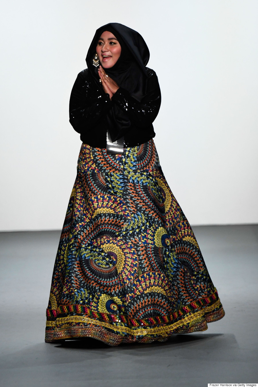 Anniesa hasibuan is the first designer to showcase hijab for Nyu tisch fashion design