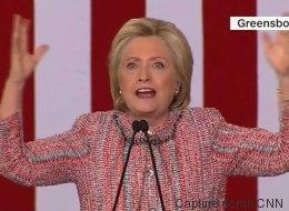 Hillary Clinton a très mal choisi sa musique lors de ce rassemblement (VIDÉO)