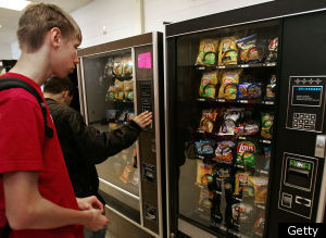 School Vending Machines Weight Gain