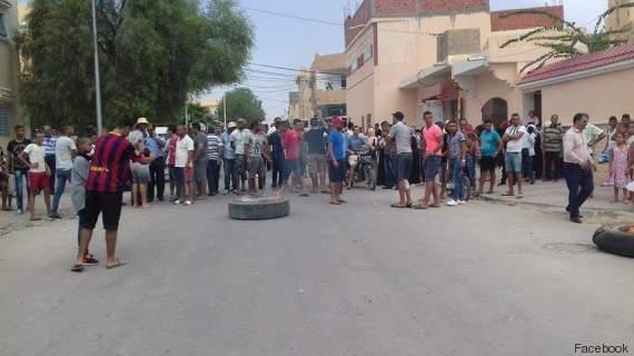 Tunisie gafsa des protestations maillent la ville pour d noncer les coupure - Coupure d eau qui contacter ...