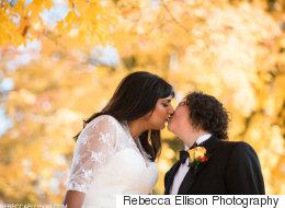 21 magnifiques photos de mariages d'automne