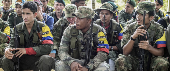 FARC COLOMBIA GUERILLA WEAPON