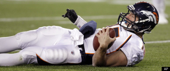 Tim Tebow Injured