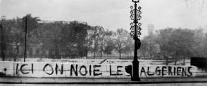 Algerians Paris Seine
