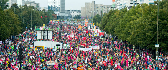 DEMONSTRATION GEGEN TTIP CETA