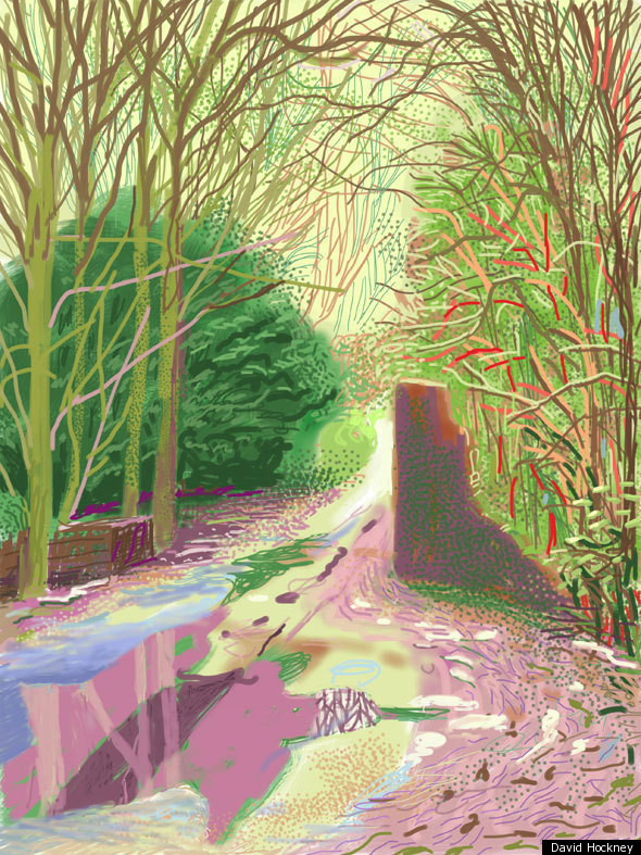 Can An Ipad Make You Paint Like David Hockney We