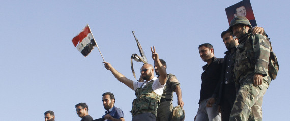 SYRIAN LOYALIST SOLDIERS