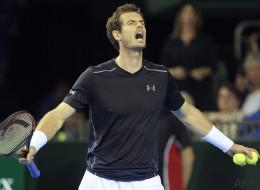 Andy Murray a eu un problème de «bijoux de famille» à la Coupe Davis