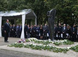Revivez l'hommage aux victimes du terrorisme aux Invalides