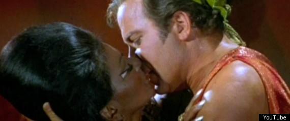 Uhura Kirk Kiss