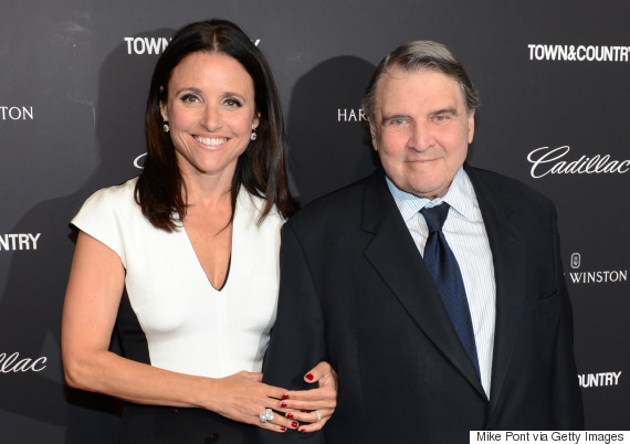 julia louis dreyfus dad