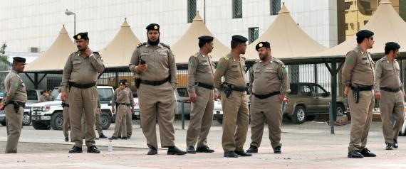 POLICE IN RIYADH