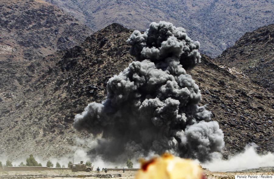 isaf strikes afghanistan