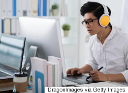 Should You Really Be Listening To Music At Work?