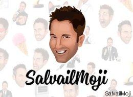 SalvailMoji: une app pour des emojis d'Éric Salvail!