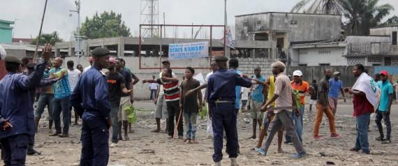 CONGO VIOLENCES