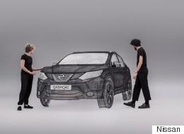 3D 펜으로 실물 크기의 자동차를 만들었다(화보, 영상)
