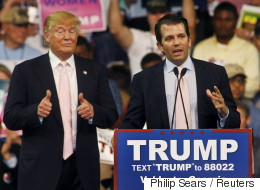 Donald Trump Jr. Compares Syrian Refugees To Poisoned Skittles