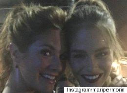 Trudeau Photobombed Sophie Grégoire And Maripier Morin's Selfie